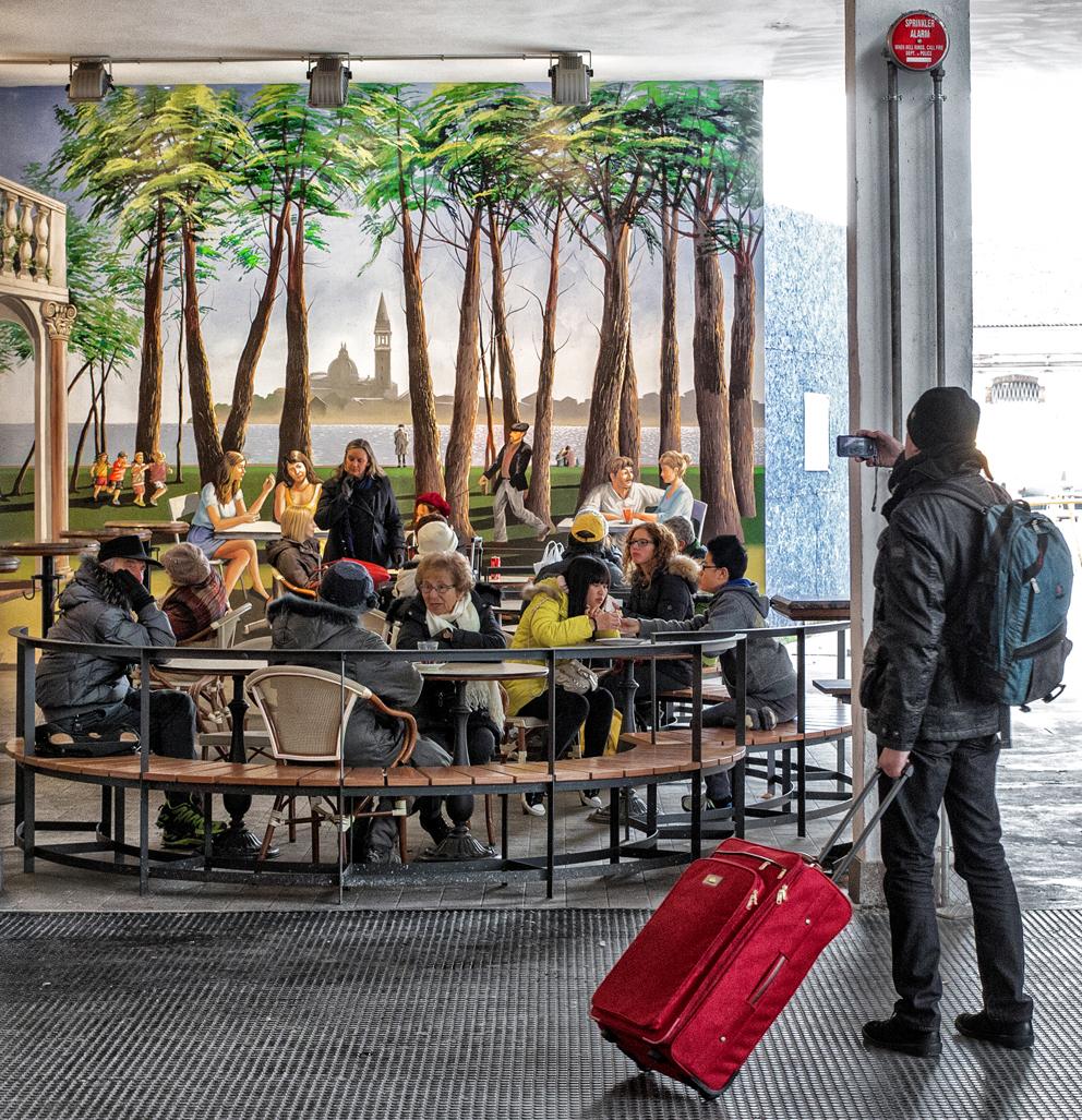 Amos Schliack, 'Durch Leiden Lernen', Berliner Mauer nahe Potsdamer Platz